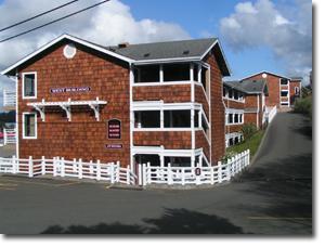 Bandon Inn Back Entrance
