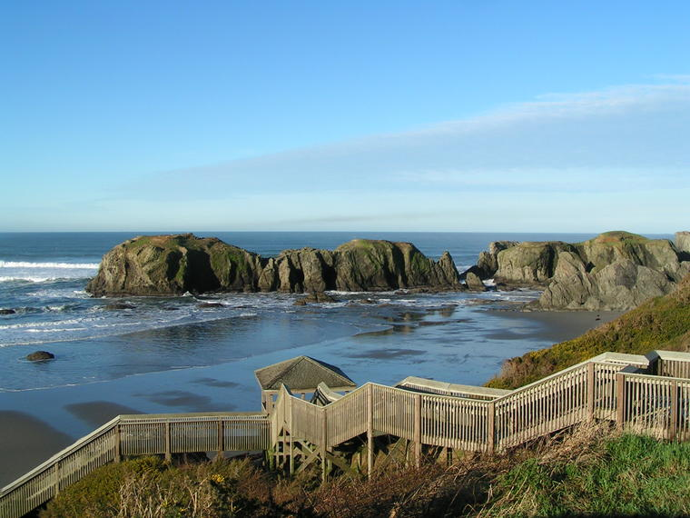 Bandon's Coquille Point