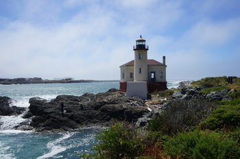 Bandon's Coquille River Lighthouse