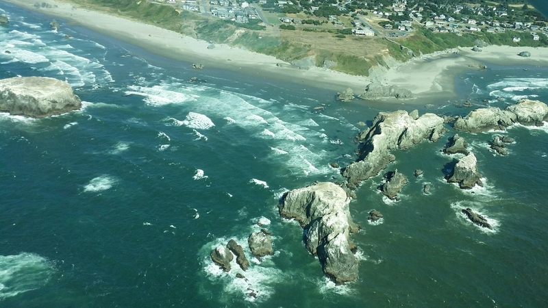 Scenic Flight over Bandon's Coastline